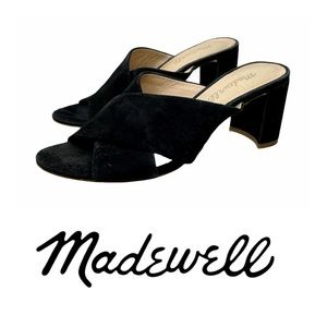 Madewell Lorna Suede Open Toe Sandals